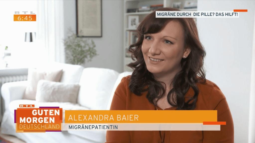 TV Interview Migraene und Pille RTL